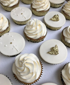 Cupcakes dourados