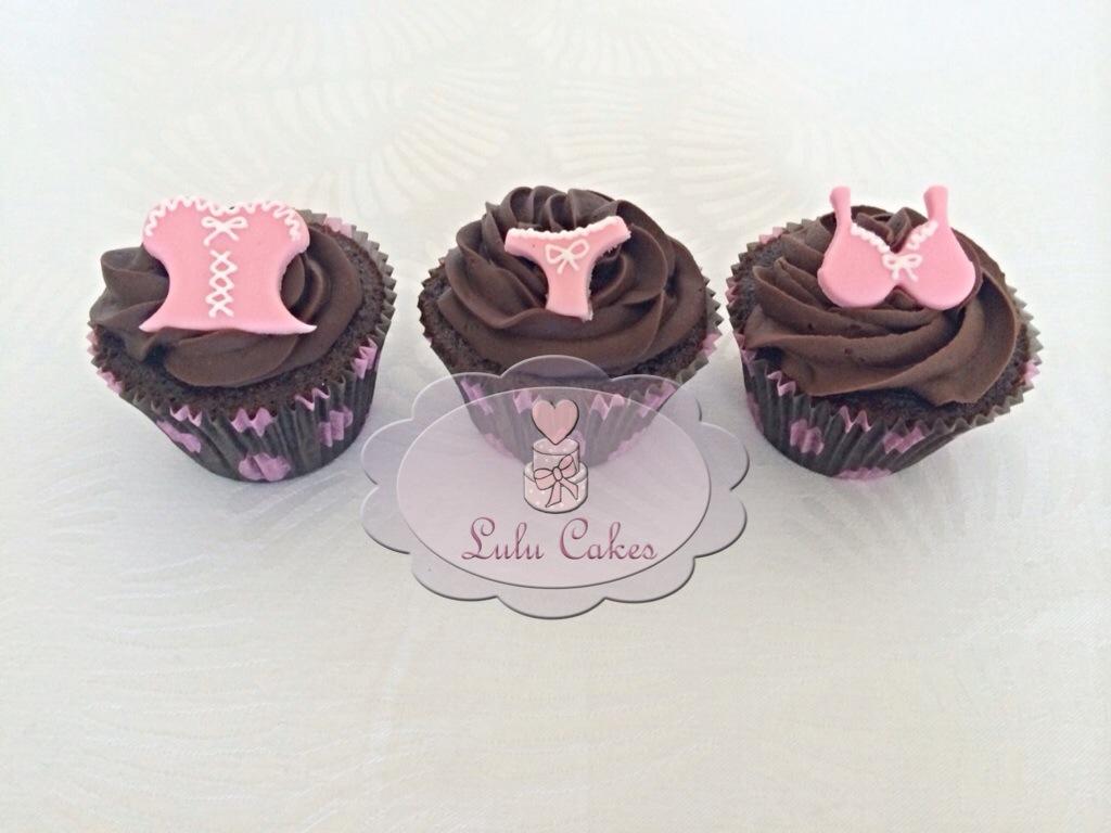 Cupcakes Chá de Lingerie 1