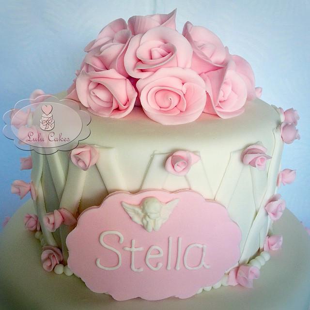 Detalhe flores rosas Stella