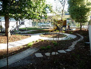 Natural outdoor playspace in Launceston