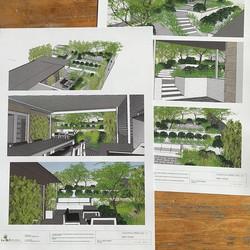 Perspectives of #WestLauncestonProject1 #landscapedesign #sketchupmodel ..