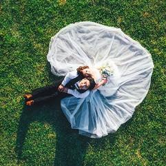 前撮り・ウェディングフォト・結婚写真のドローン撮影をしました(M600+RONIN-MX, M300RTK+P1)