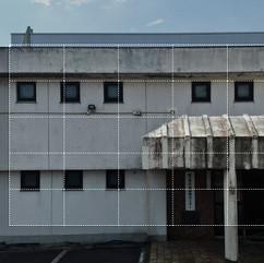 建物壁面の点検撮影(M300RTK+H20T)