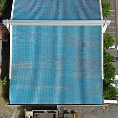 建物屋根及び壁面の点検撮影(M300RTK)