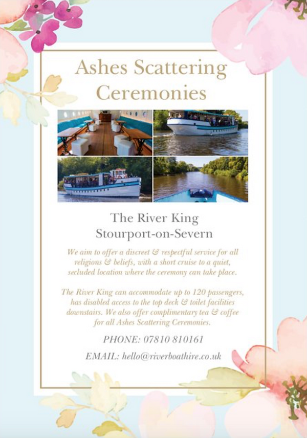 Ashes Scattering Ceremonies - The River