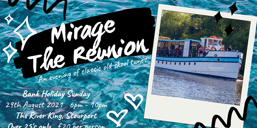 CANCELLED Mirage - The Reunion Boat Party