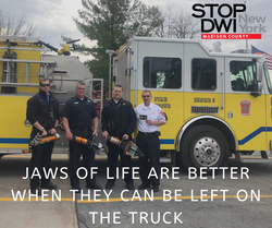 Jaws of life are better on the truck