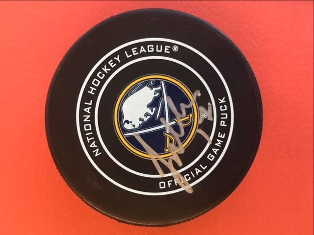 Buffalo Sabres Autographed Puck