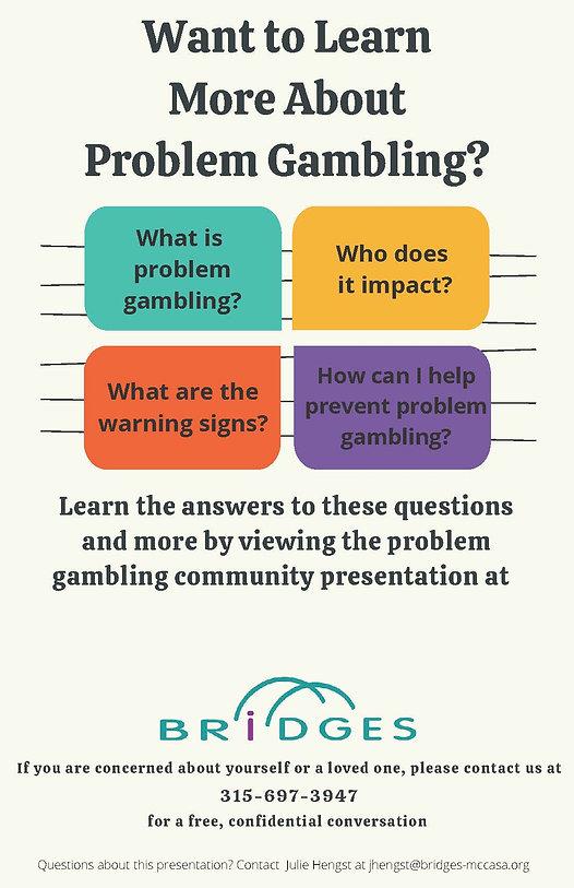 For Website- Problem Gambling Presentati