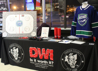 Victory for the Utica Comets & Stop DWI