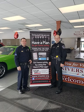 STOP DWI and University Dodge Promote Safe Driving