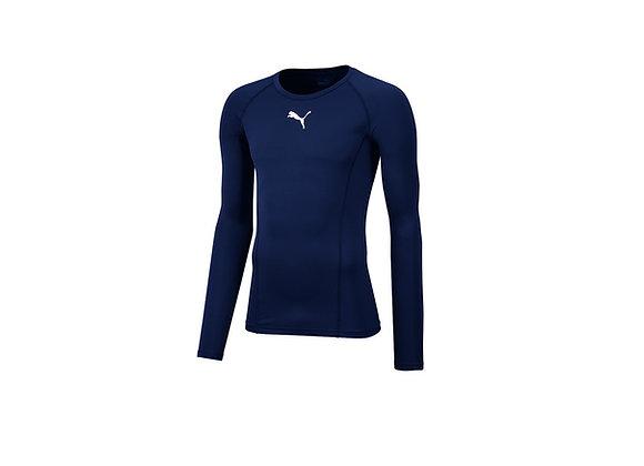 Thermoshirt Blau Erwachsene