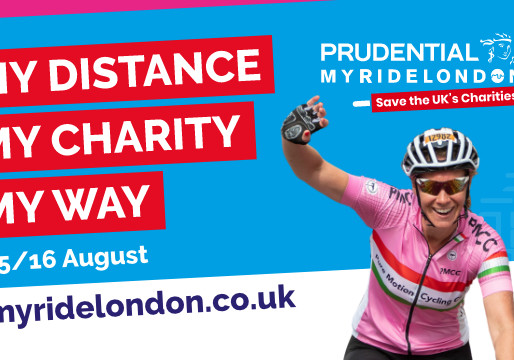Calling all couch potatoes - Challenge yourself to My Ride London 🚴