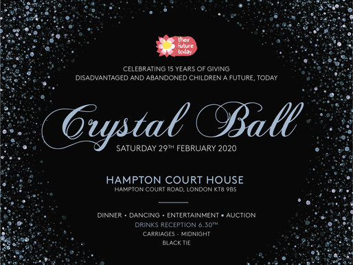TFT's 15 YEARS OF GIVING - CRYSTAL BALL