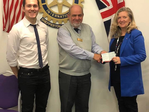The Support of Sunbury & Shepperton Rotary!
