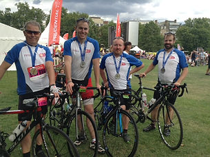 Prudential Cyclists for TFT