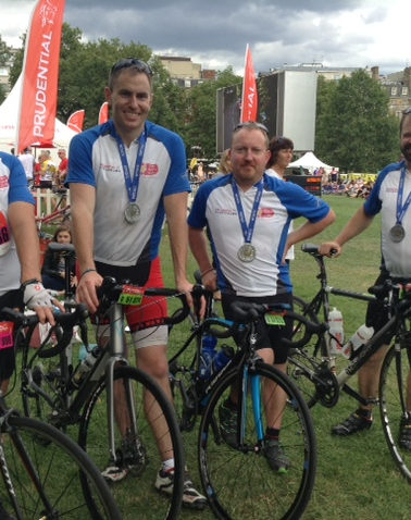 Prudential Ride London group 2016