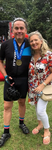 Gabby Buck in the 2019 Prudential Ride London 100