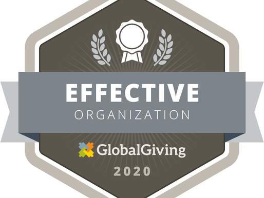 GLOBAL GIVING BADGE AWARDS