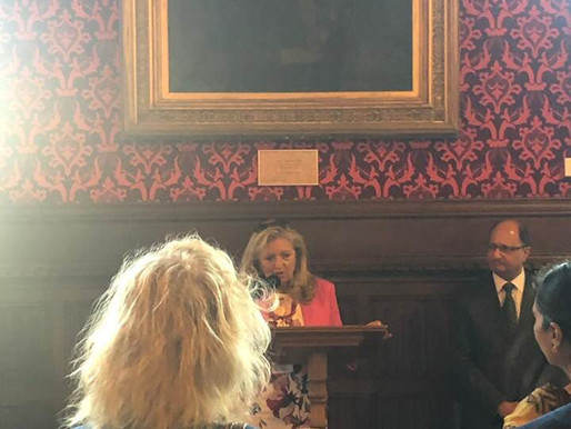 LYNN STANIER MBE SPEAKING AT HOUSE OF COMMONS