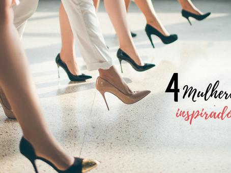 Mulheres que inspiram em suas apresentações!