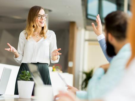 Você é autoconfiante quando fala em público?