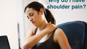 A hunchback can be the cause of shoulder pain: