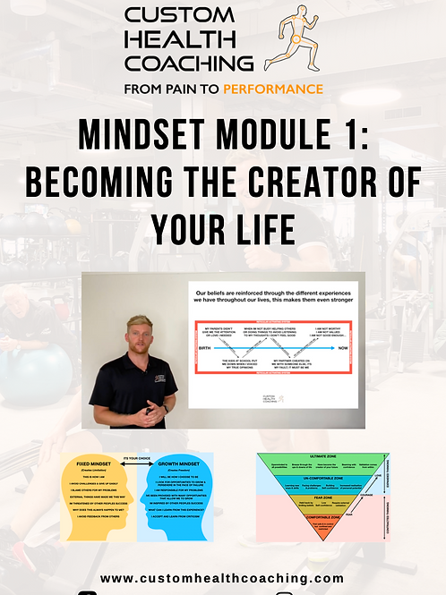 Custom Health Coaching Mindset Series