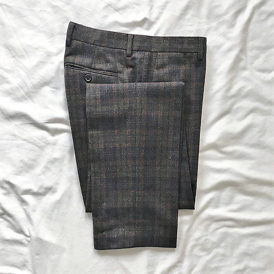 Raf Simons Check Formal Trousers