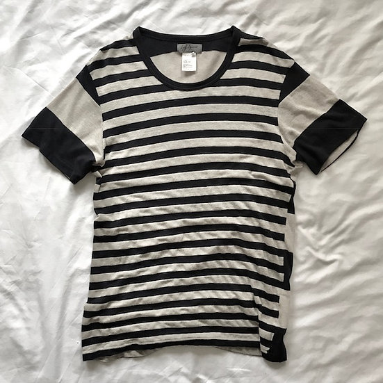 Yohji Yamamoto Pour Homme Unstructured Linen Cotton Top