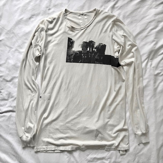 Rick Owens DRKSHDW Autumn-Winter 2008 Rare Karen Black Band Long Sleeve Top