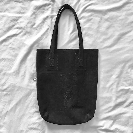 Rick Owens Mainline Suede Leather Tote Bag
