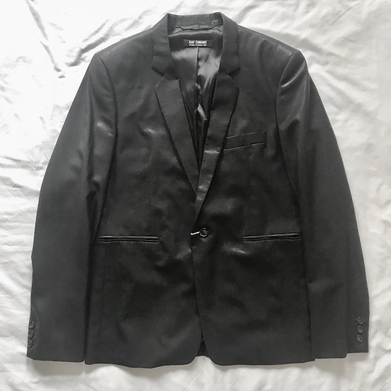 Raf Simons Spring-Summer 2007 Coated Blazer