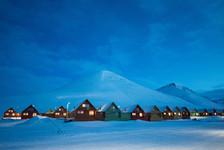 Longyearbyen at Night