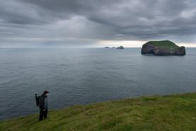 Cliffs of Vestmannaeyjar