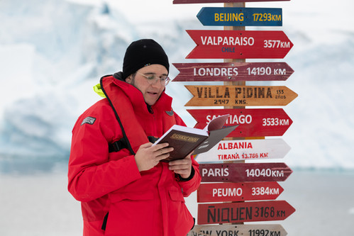 First-Ever Siyum Mesechta on Antarctica