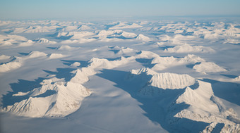 Svalbard From the Air