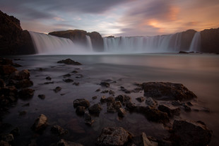 Goðafoss Sunset