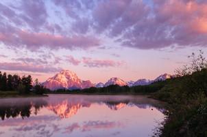 Oxbow Bend Sunrise, Wyoming