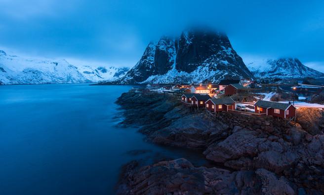 Blue Arctic, Lofoten Islands