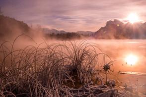 Sunrise at Vermillion Lakes