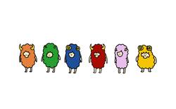 本格羊毛マーダーミステリーラムの村 キャラクターデザイン