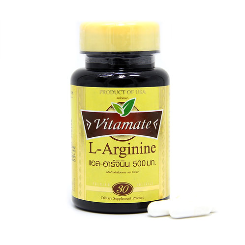VITAMATE L-Arginnie 500 mg.
