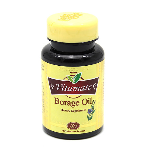 VITAMATE Borage oil 1000 mg.