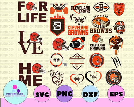 Cleveland Browns, Cleveland Browns svg, Cleveland Browns clipart, NFL TEAM
