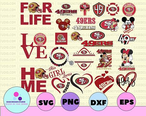 San Francisco 49ers, San Francisco 49ers svg, NFL TEAM