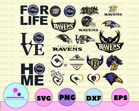 Baltimore Ravens, Baltimore Ravens svg, Baltimore Ravens clipart, Baltimore Rave