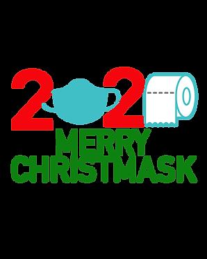 """Quarantine Christmas 2020 Mask svg, png shirt Funny Merry Christmas svg Toilet"