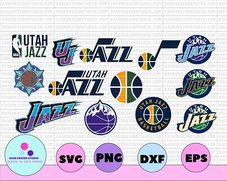 Utah Jazz, Ulta Jazz svg,basketball bundle svg,svg,png,dxf,eps,Cricut ,SVGS, NBA