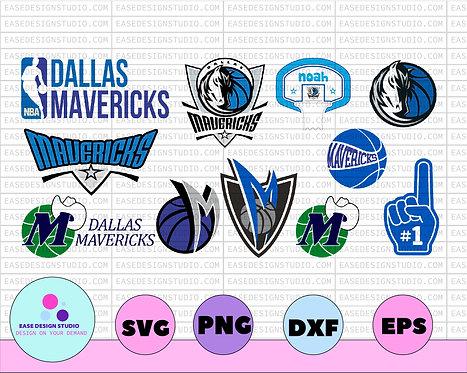 NBA ,DALAS MAVERICKS, svg, Nba teams logo bundle svg, Nba teams svg, NBA